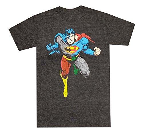 DC Comics Justice League Superman Batman Flash Graphic T-Shirt