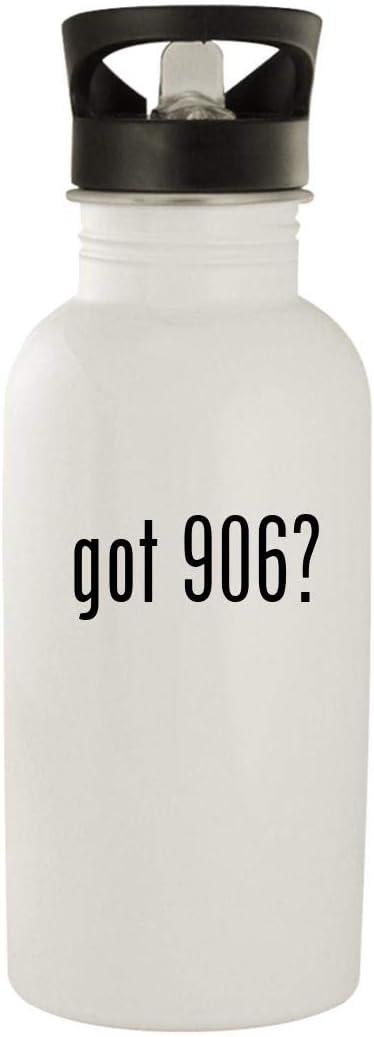 got 906? - Stainless Steel 20oz Water Bottle, White