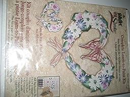 One Stroke Learn to Paint Kit Heart Wreath Kit 1210