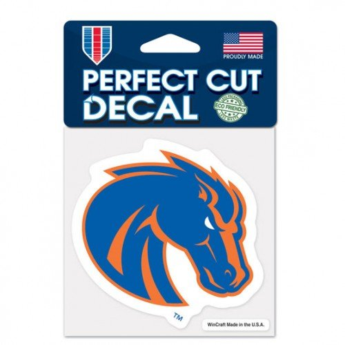 (Boise State Broncos Primary Logo Die Cut Decal 4