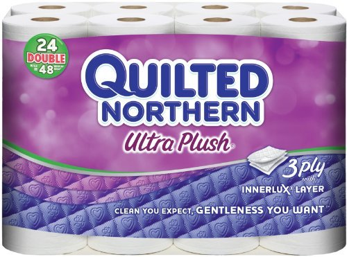 Quilted Northern Ultra Plush Double Roll Toilet Tissue