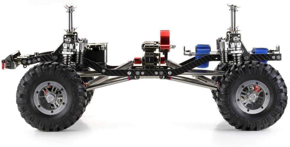 absima CR de 01 Gun Metal 4 WD Rolling Chassis Crawler ...