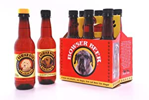 Bowser Beer, Beefy Brown Ale, 12-Ounce Bottles (Pack of 6)