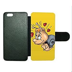 Case Fun Case Fun Fly in Love Cartoon Faux Leather Wallet Case Cover for Apple iPhone 6 4.7 inch