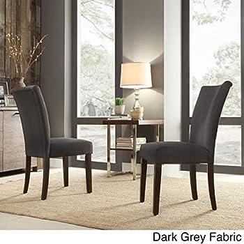 Amazoncom INSPIRE Home Catherine Parsons Dining Room Side Chair - Dining room side chairs