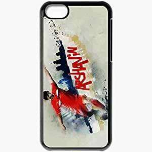 Personalized iPhone 5C Cell phone Case/Cover Skin Andrei arshavin russian football Black