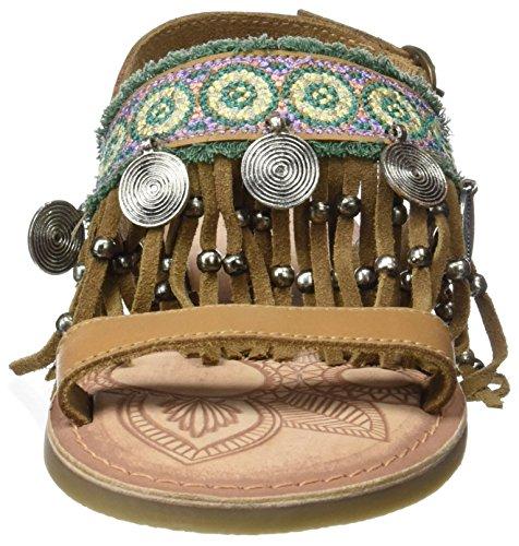 Marron Femme Maeba CLOUD amp; Cuero 300 MUSSE Sandales w16cX
