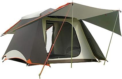 YBQ Tiendas de campaña Marrón Carpa Automática Camping ...