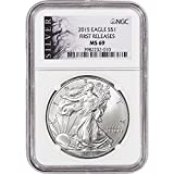 2015 American Silver Eagle $1 MS69 First Releases - ALS Label NGC