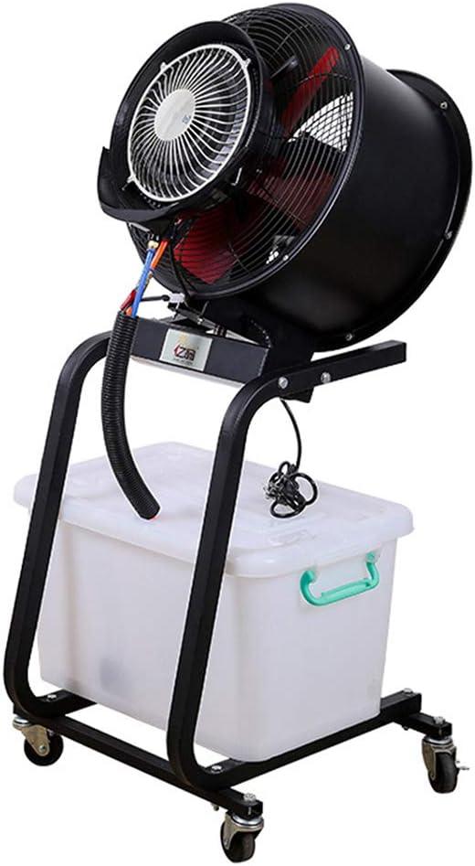 Ventiladores de pedestal Ventilador de nebulización oscilante para ...