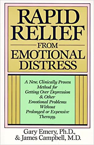 Book Rapid Relief from Emotional Distress: A New, Clinically Proven Method for Getting Over Depression & Other Emotional Problems Without Prolonged or Expensive Therapy