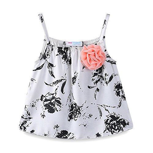 Mud Kingdom Little Girls Outfits Summer Holiday Top and Short Set