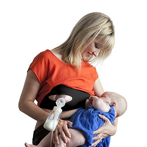 Pump Strap Hands Free Pumping Bra and Nursing  Compression Breastpump Bra