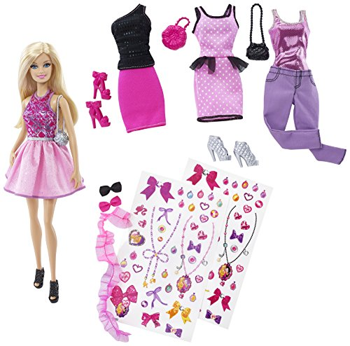 Exclusive Barbie Decorate Fashion Doll and Accessories by ()