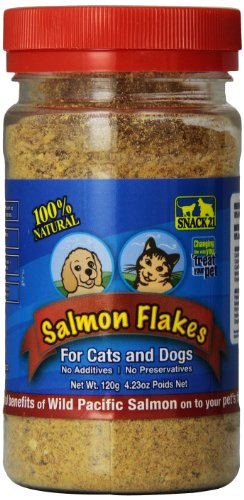 (Snack 21 Salmon Flakes For Cats And)