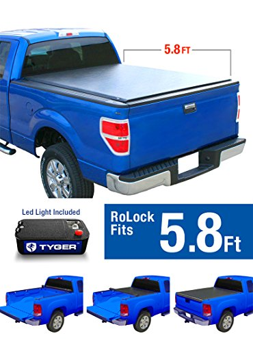 Tyger Auto TG-BC2C2053 RoLock Low Profile Roll-Up Truck B...