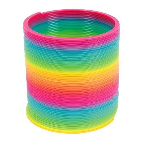 (Fun Express Magic Spring - 4 inch, Plastic, Rainbow)