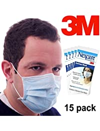 Bargain 15 Pack Nexcare 3M Disposable Earloop Face Masks Health Supplies Bacteria Protection Professional saleoff