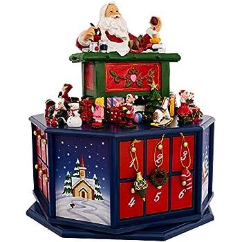 Amazon Com Mr Christmas Animated Musical Advent House