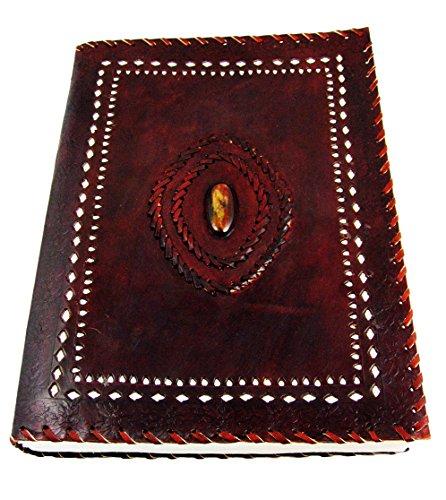 Antique Leather Journal Polished Parchment