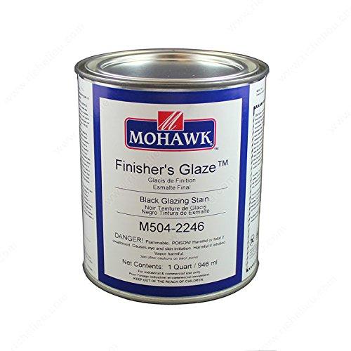 Finisher's Glaze Glazing Stain - M5042246 - Finish Jet Black, Size 32 oz