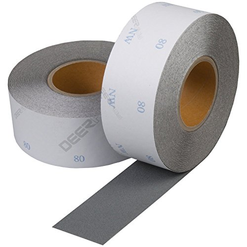 "Abrasive Sandpaper Roll 2.75"" x 27 Yards with Premium Alu..."