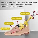 Shoe Stretcher Women, Pair of 4-way Adjustable Shoe
