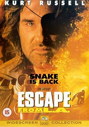 Escape From L A  [1996] [DVD]: Amazon co uk: Kurt Russell