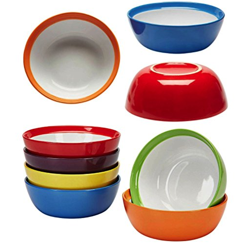 Primrose Colorful Bowls By Madero Kitchen Set Of 6 PREMIUM