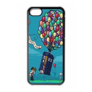 Custom High Quality WUCHAOGUI Phone case Doctor Who - Police Box Pattern Protective Case For ipod touch4 - Case-17