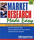 Market Research Made Easy, Margaret Doman and Don Doman, 1551804093