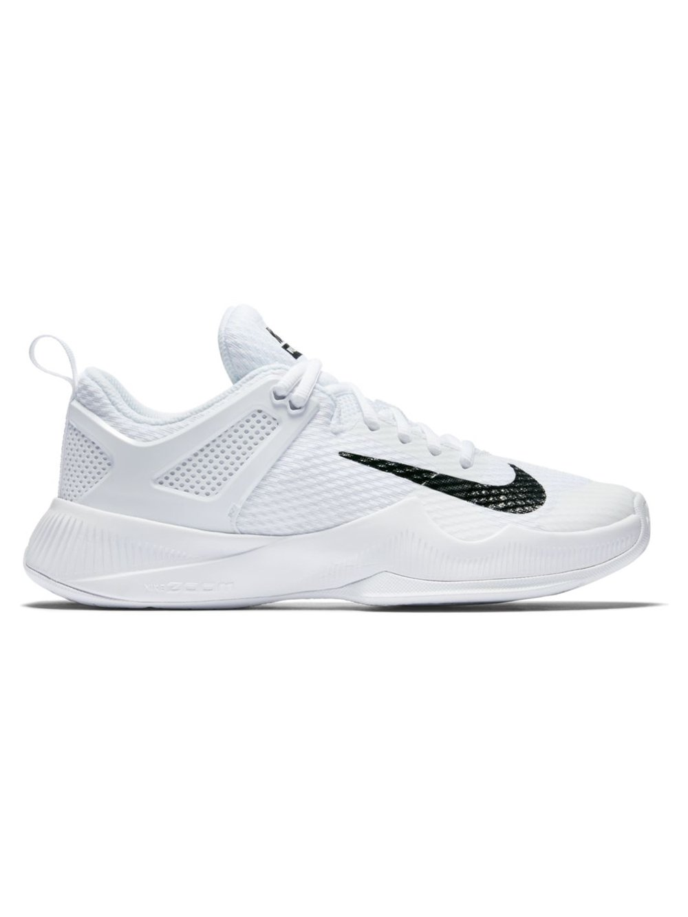 Nike Womens Wmns Air Zoom Hyperace, White / Black, 10.5 M US by NIKE (Image #2)
