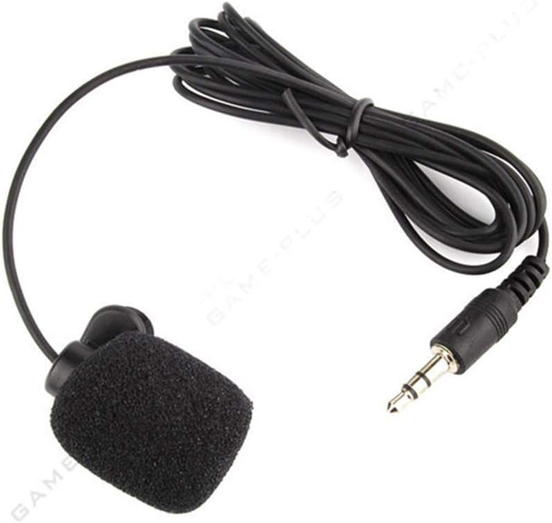 qualsiasi dispositivo mobile Eipek per telefono Android 3,5 mm 5 pezzi Microfono omnidirezionale a clip