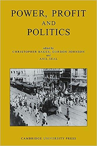 power profit and politics volume part essays on power profit and politics volume 15 part 3 essays on imperialism nationalism and change in twentieth century 1st edition