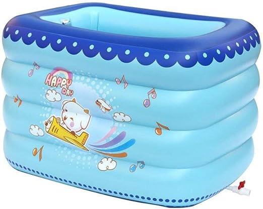 BHDYHM Centro de natación Piscina Inflable, Piscinas para niños Piscina Inflable con Fondo de Burbujas Inflable Piscina de Entretenimiento Familiar Piscina para niños Piscina para niños: Amazon.es: Hogar