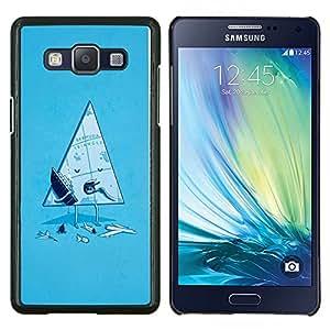 LECELL--Funda protectora / Cubierta / Piel For Samsung Galaxy A5 A5000 -- Divertido Triángulo de las Bermudas --
