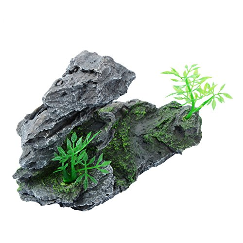 Saim Aquarium Stone Ornament Tree Rock Fish Tank Decoration by Saim