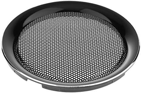 6.5インチ スピーカー グリルカバー ケース DIY 直接穴 金属冷間圧延鋼 装飾 全3サイズ - 4インチ