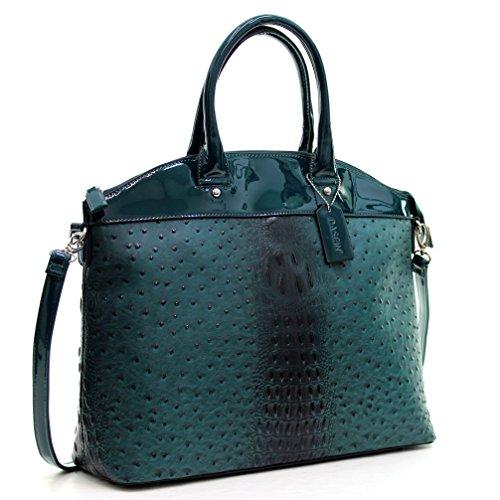 MMK Collection Fashion Packlock Handbag(7103) ~ Signature fashion Designer Purse~ Perfect & Women Satchel Purse(7103) (2591-160970DD)