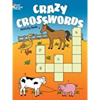 Crazy Crosswords Activity Book