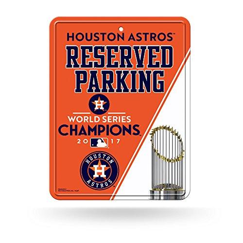 Parking Series World Sign - Houston Astros 2017 World Series Champions Metal