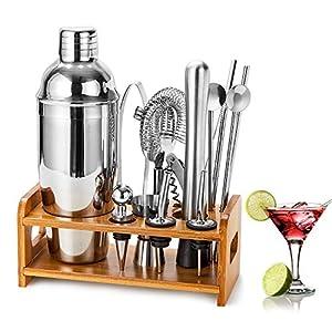 HB life Set Cocktail Shaker, Metallo, Silver, 1 11