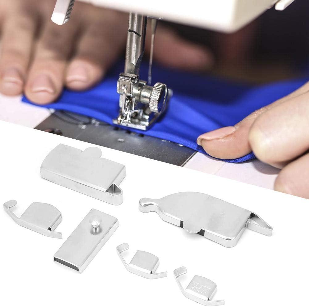 KEYREN 6 Piezas de Fuerza magnética Fuerte guía magnética de Costura para Accesorios de máquinas de Coser máquina de Coser guía de Costura Acero Inoxidable magnético Fuerte: Amazon.es: Hogar