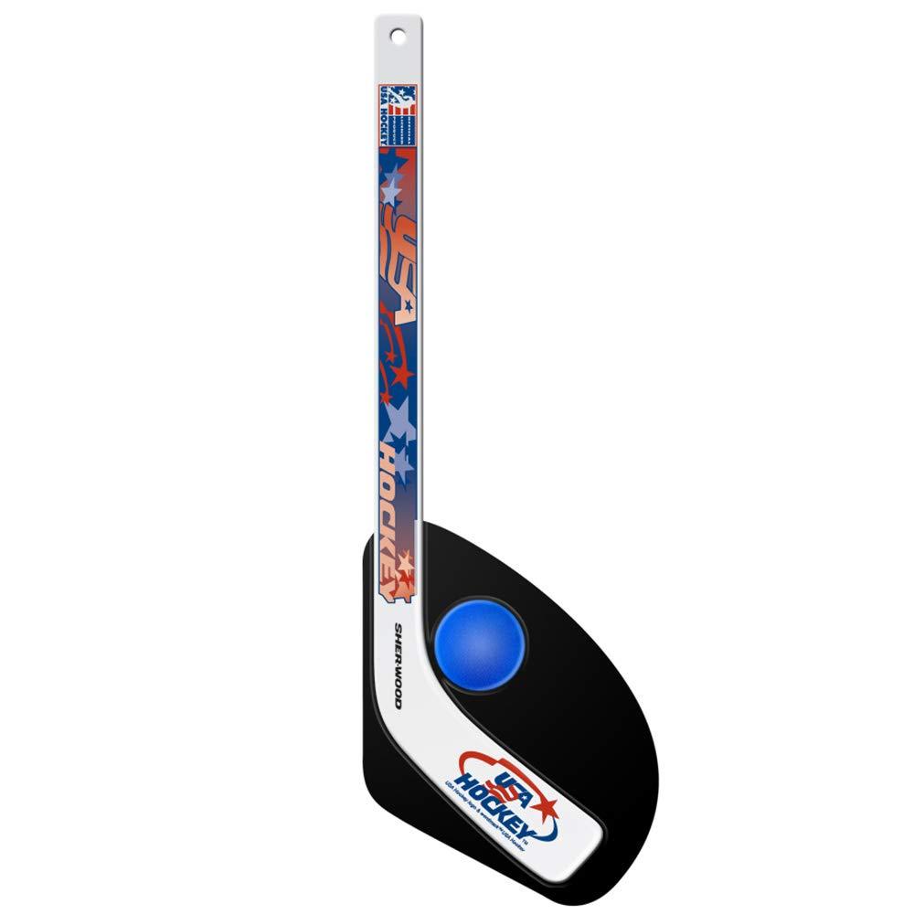 USA Hockey Hat Trick Mini Stick & Ball Set by USA Hockey