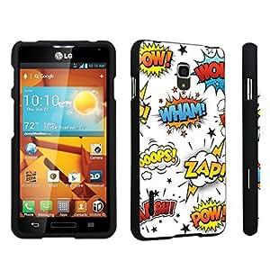 DuroCase ? LG Optimus F7 US780 / LG870 Hard Case Black - (Comic)