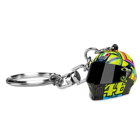 Valentino Rossi VR46 Moto GP 3D Helmet Llavero Oficial 2018 ...