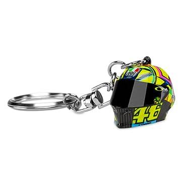Valentino Rossi VR46 Moto GP 3D Helmet Llavero Oficial 2018