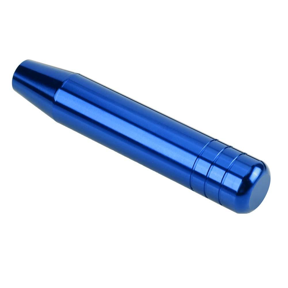 Qiilu Pomo para Palanca de Cambios Perilla del cambio Universal de Aleaci/ón de aluminio 18cm Azul