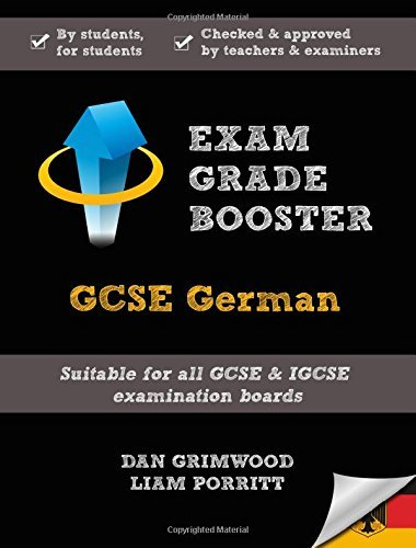 Exam Grade Booster: GCSE German by Dan Grimwood (2015-03-01)