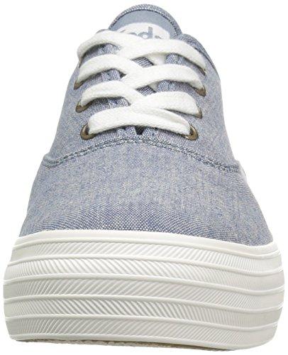 Sneaker Di Moda Tripla Core Delle Donne Keds Blu Scuro